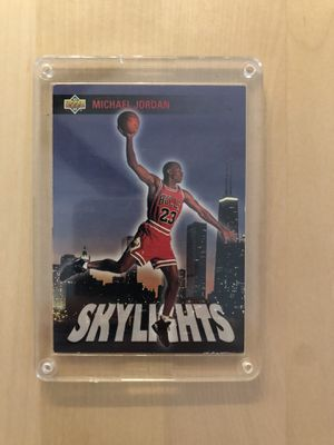 Jordan vintage upper deck skylights collectible card for Sale in Los Angeles, CA