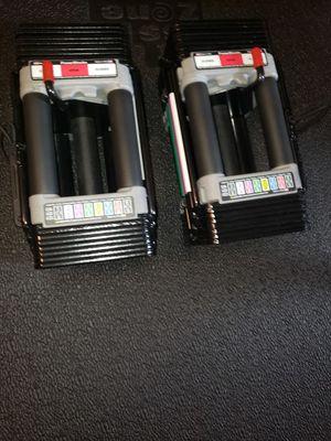 Power block adjustable dumbbells $220 for Sale in Renton, WA