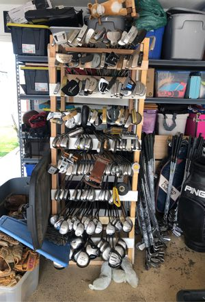Golf club sets and single clubs from drivers to putters and everything in between. for Sale in Chandler, AZ