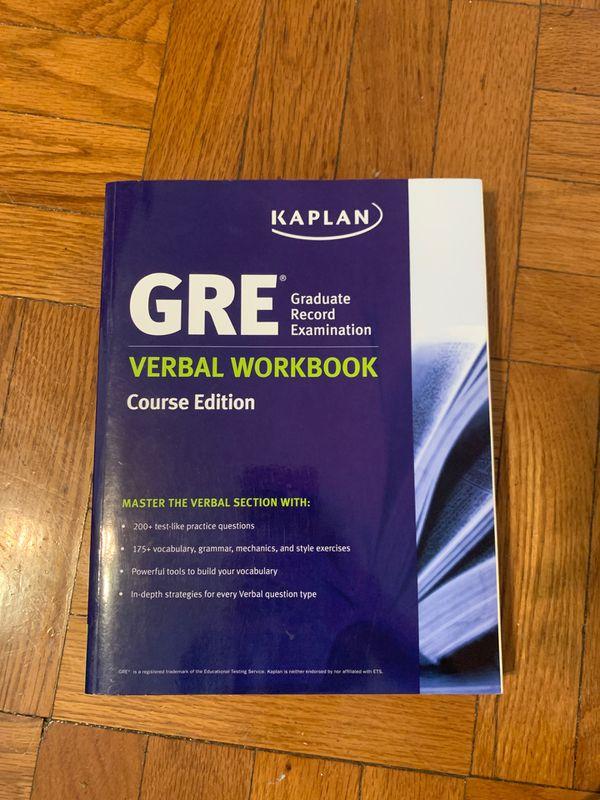 GRE Kaplan Verbal Workbook