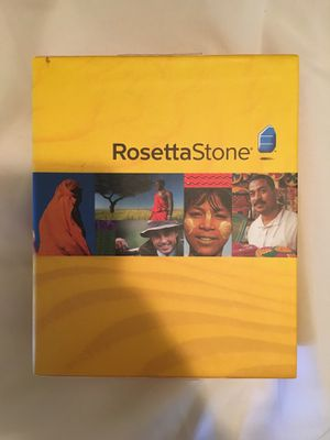 Rosetta Stone GERMAN and DEUSTCH Level 1 with headphones for Sale in Raleigh, NC
