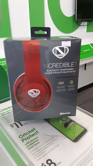 Ncredible1 Bluetooth headphones for Sale in San Angelo, TX