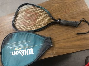 Wilson reflex dub tennis racket for Sale in Phoenix, AZ