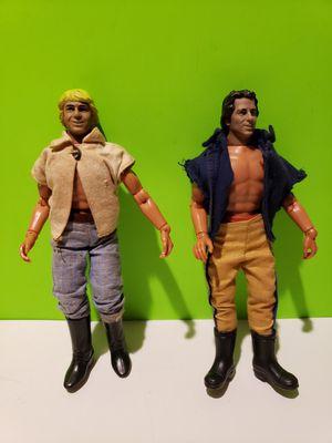 """Dukes of Hazard 1980 Bo + Luke Duke 8"""" Action Figures by Mego (You get both) for Sale in Reinholds, PA"""