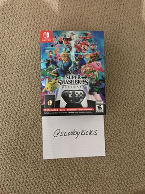 Super Smash Bros Ultimate Special Edition for Sale in Austin, TX