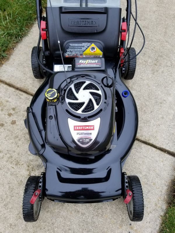 Craftsman PLATINUM 7hp lawnmower  Self propelled with key start option  for  Sale in Bolingbrook, IL - OfferUp