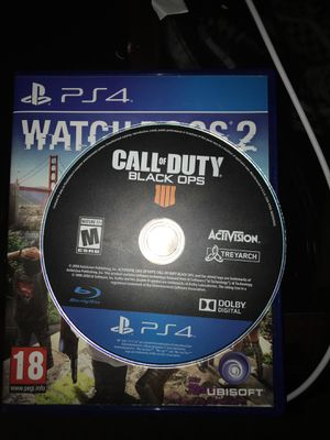 Call of duty black ops 4 for Sale in Spring Valley, CA