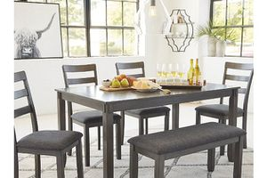 Table and Chairs with Bench for Sale in Virginia Beach, VA