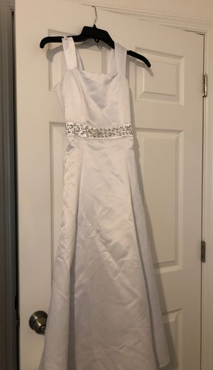 Girls flower girl bridesmaid dress youth size 12 for Sale in Davenport, FL