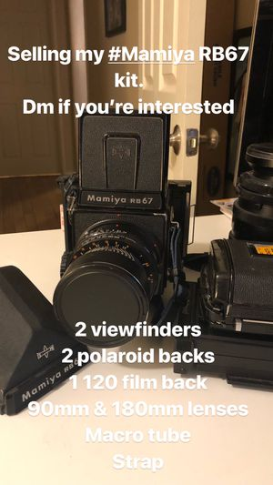 Mamiya RB67 Film Camera Bundle for Sale in Las Vegas, NV