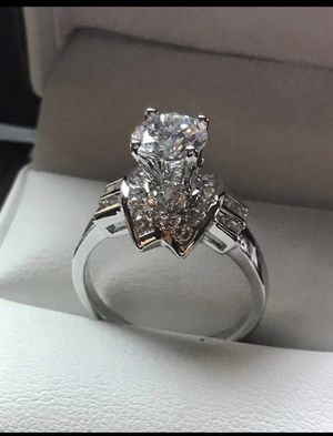 STERLING SILVER ENGAGEMENT RING for Sale in Los Angeles, CA