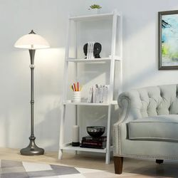 NEW In Box - NewRidge Home Solid Wood Dunnsville 4-Tier Leaning Ladder Shelf, Bookcase & Display for Sale in Miami,  FL