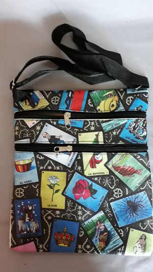 Loteria Messenger Hipster Bags Mexican Lottery Bags HB 70 for Sale in Chula Vista, CA