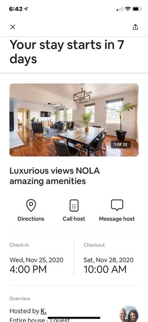 Airbnb trip for sell for Sale in Acworth, GA