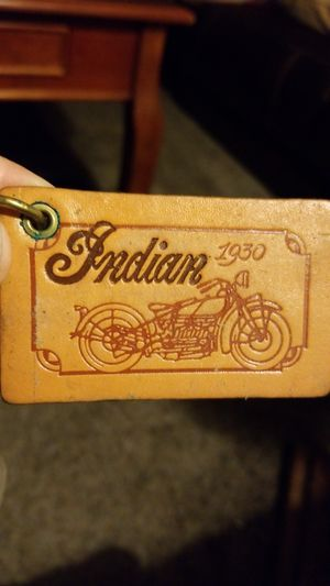 Indian Motorcycle leather key chain for Sale in Riverside, CA