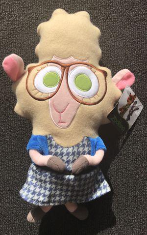 New Zootopia assistant mayor Belwether stuffed animal for Sale in Royal Oak, MI