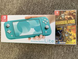 New Nintendo Switch Lite + Borderlands Legendary Collection for Sale in Lynnwood, WA