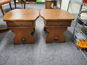 2 lane end tables for Sale in Erie, PA