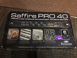 Saffire pro 40 for Sale in San Diego, CA