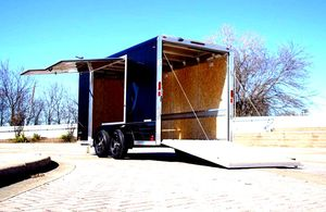 Price$1000 CARGO Trailer Carrying Capacity 7000 for Sale in Miami, FL