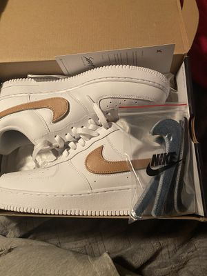 Nike Air Force 1 removable swoosh size 11 $60 for Sale in South Hill, WA
