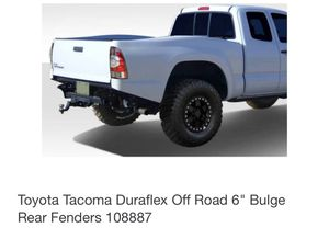Duraflex fenders Toyota Tacoma for Sale in Jurupa Valley, CA