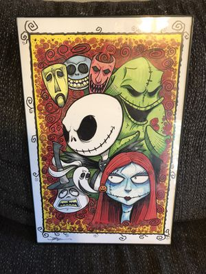 Nightmare Before Christmas Poster for Sale in Mesa, AZ