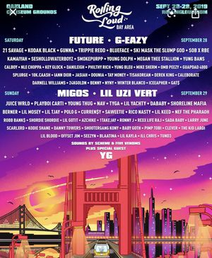 Rolling Loud The Bay Ticket VIP for Sale in Fontana, CA