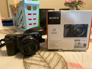 Sony A6000 Alpha Camera for Sale in North River, ND