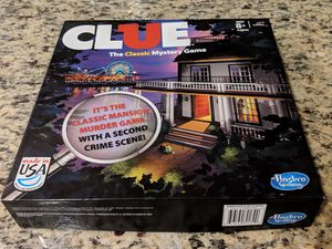 Clue Mystery board game for Sale in Washington, DC