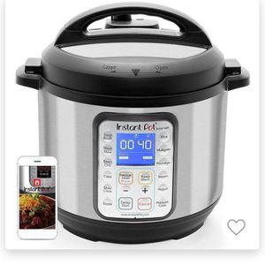 New In Opened Box 6 Quart Instant Pot for Sale in Garland, TX