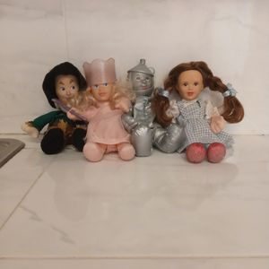1998 Trevco Turner Entertainment Co Wizard Of Oz Dolls for Sale in Troutdale, OR