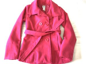 Juniors hot pink coat for Sale in Hayward, CA