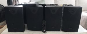 Used: Speco speakers (4) + crown 135am amplifier for Sale in Inglewood, CA