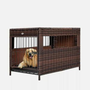 Destar Hollow Rattan Dog Crate for Sale in Mansfield, OH