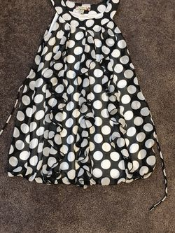 Girl's Speechless Brand Polka Dot Ruffle Dress - Size 10 - Like New for Sale in Chesapeake,  VA