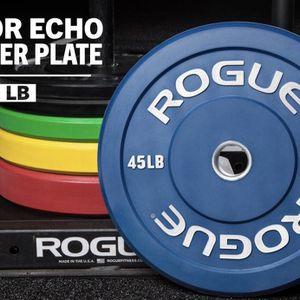 ROGUE COLOR ECHO BUMPER PLATES (260LB) Brand New for Sale in Seattle, WA