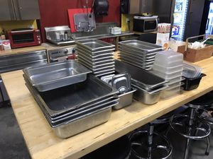 Restaurant Steam Table Pans and Lids for Sale in Tualatin, OR