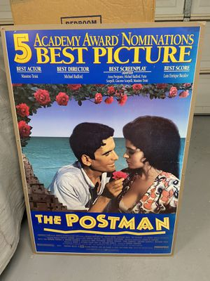 1994 movie poster for The Postman for Sale in Newport Beach, CA