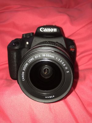 Like new canon t5 for Sale in Largo, FL