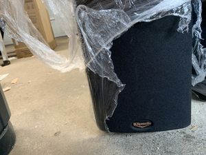 Klipsch SF2 tower speakers. Good condition. SF2Black-0212 0115 for Sale in Marysville, WA