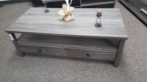 Dutto Coffee Table, Distressed Grey, SKU 151464CT for Sale in Santa Ana, CA
