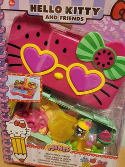 Hello Kitty And Friends Pencil Box Playset NIP for Sale in La Puente,  CA