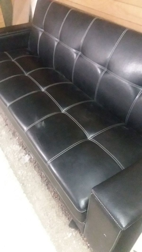 Leather Futon
