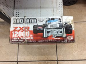 12000 Lbs Winch New!!! For Trucks or Jeep for Sale in Dallas, TX
