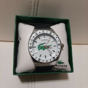 Mens Watch White Black Strap New for Sale in Berkeley Township, NJ