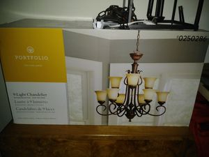 Chandelier light fixture for Sale in Cleveland, OH
