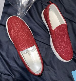 Gucci Dublin G Rhombus slip on sneakers (Red) for Sale in Dallas, TX