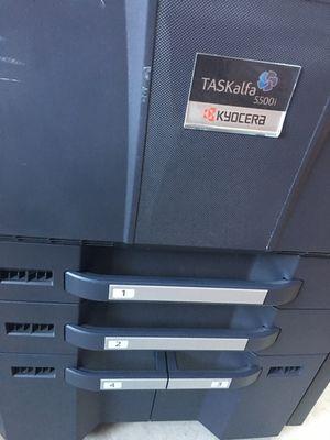 Kyocera Taskalfa 5500i Monochrome Multifunction Printer Copier Scanner 55ppm for Sale in Cypress, CA