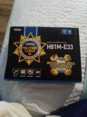 Motherboard H81M-E33 for Sale in Largo, FL